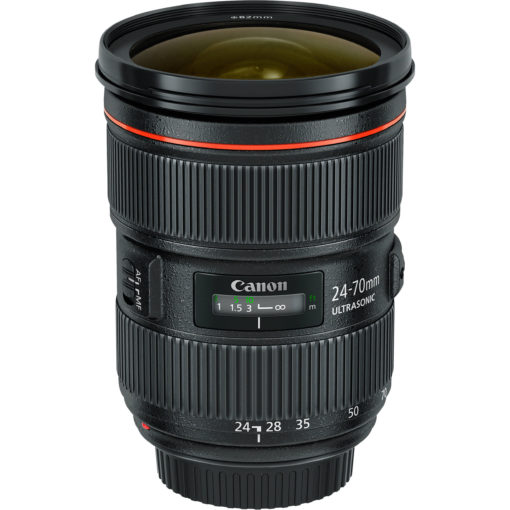 Canon 24-70mm F2.8L II front