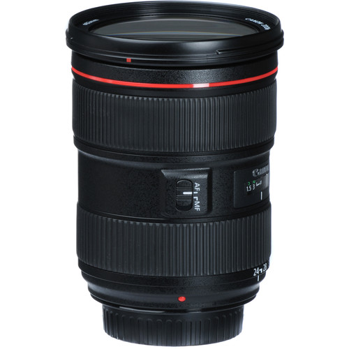 Canon 24-70mm F2.8L II side view