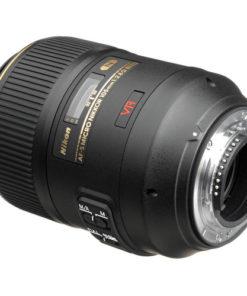 Nikon 105mm F2.8 ED VR back angle
