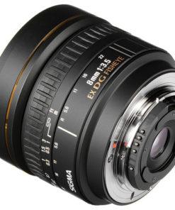 Sigma 8mm F3.5 Fisheye (Nikon) back angle