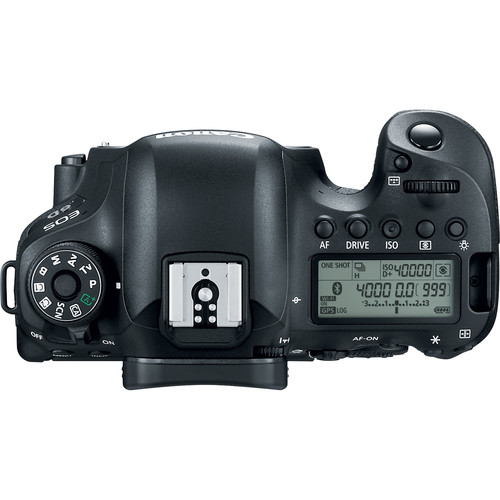 Canon 6D MKII top