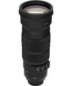 Sigma 120-300mm F2.8 Sport upright angle