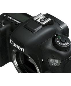 Canon 7D Mark II Top Angle