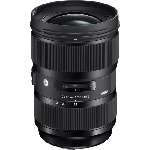 Sigma 24-35mm ART (Canon) front angle