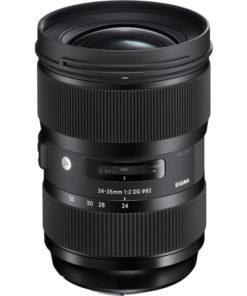 Sigma 24-35mm ART (Nikon) front angle